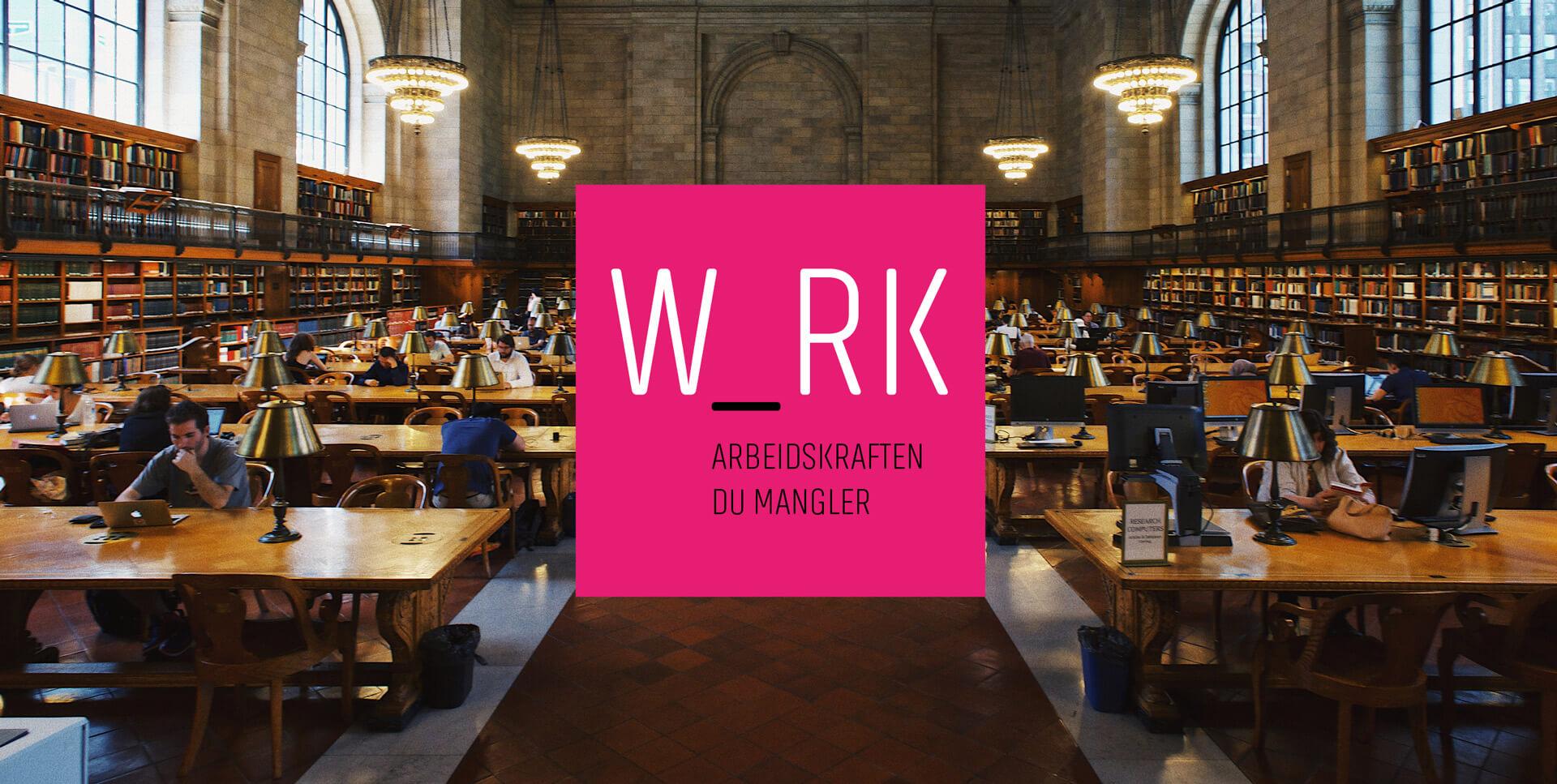 Konsept og grafisk profil for WRK Bemanning